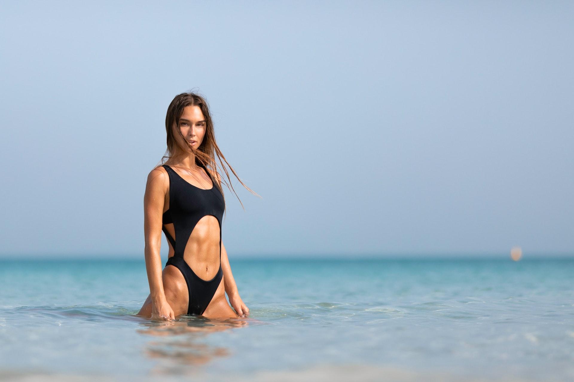woman-wearing-black-monokini-2038014